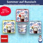 Quarki Sommer auf Russisch bei Penny