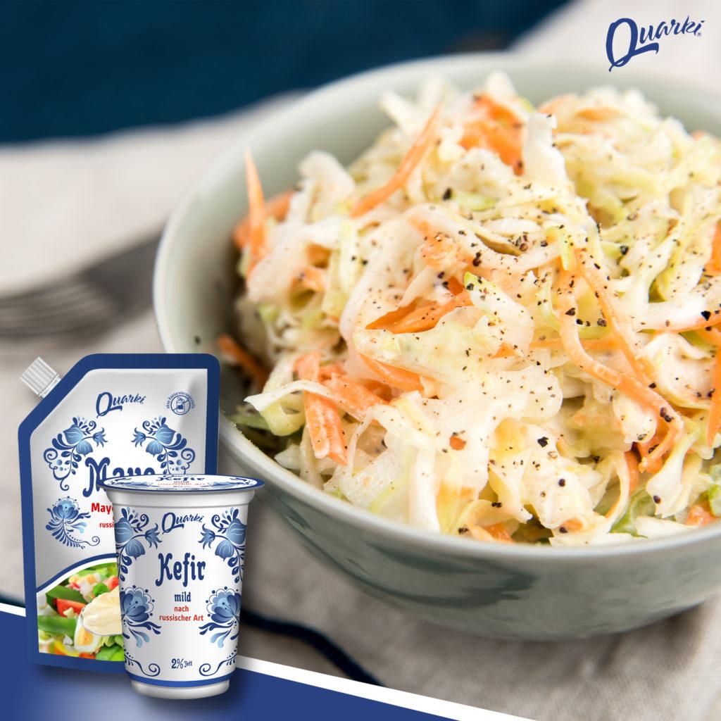 """Quarki Rezept Coleslaw à la """"Russian Cuisine"""""""