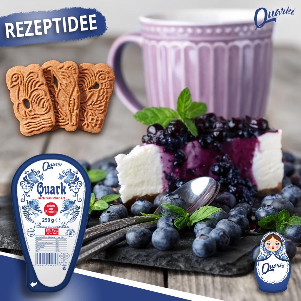 Quarki Rezept Spekulatius Cheesecake