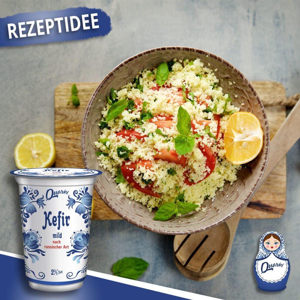 Quarki Rezept Couscous Salat