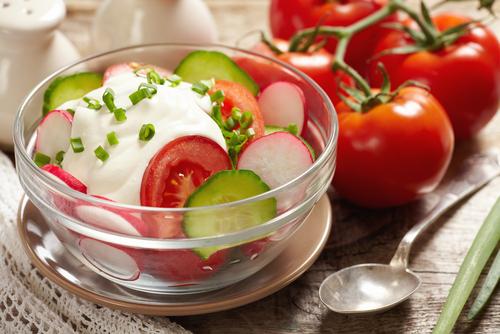 Quarki Rezept Smetana Salat