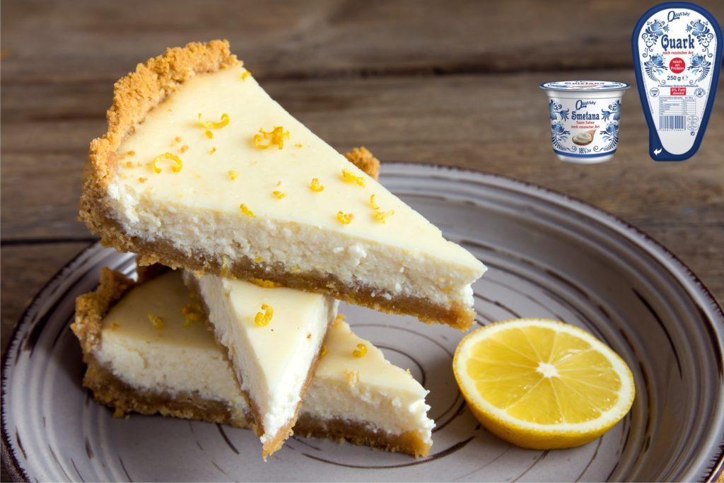 Quarki Rezept Zitronen Cheesecake