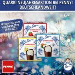 Quarki Quarki Neujahrsaktion bei Penny