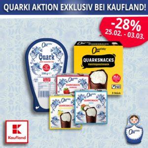 Quarki Quarki Aktion exklusiv bei Kaufland