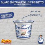 Quarki Smetana exklusiv bei Netto
