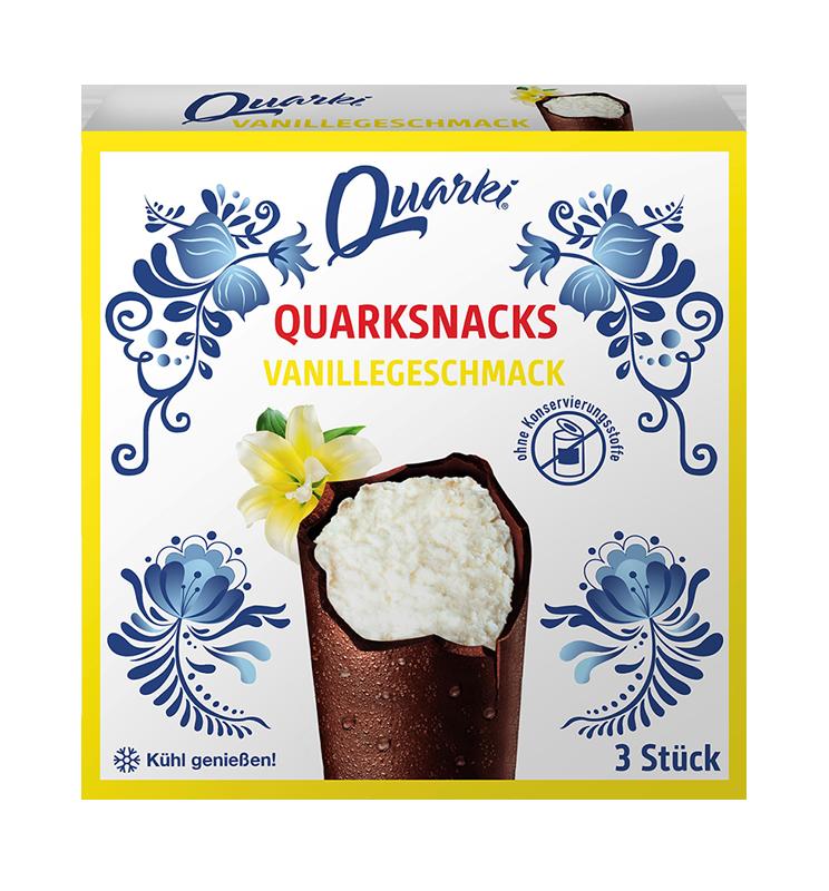 Quarki Quarki Vanille 3 x 35g