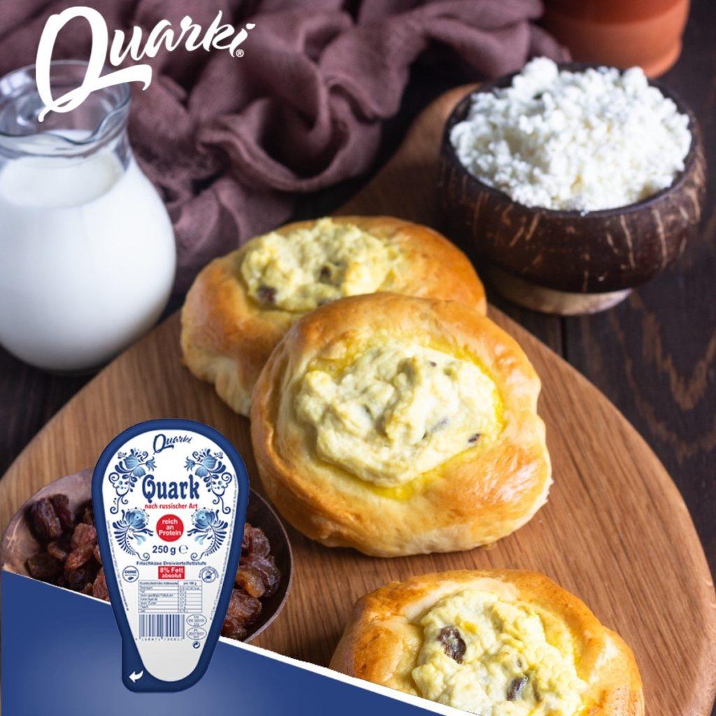 Quarki Rezept fluffige Quarktaschen (Watruschki)